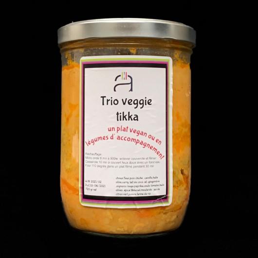 Trio veggie tikka -720g