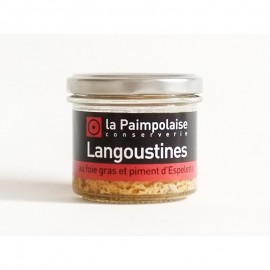 Tartinade Langoustine au Foie Gras et Piment d'Espelette
