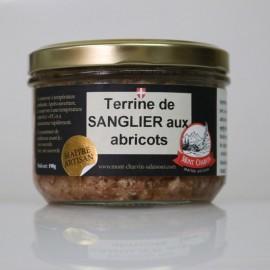 Terrine de Sanglier aux Abricots, Mont Charvin
