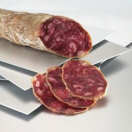 Saucisson Ibérique de Bellota tranché