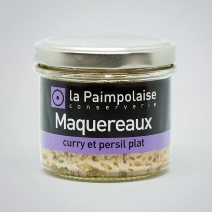 Tartinade Maquereaux, Curry et Persil plat
