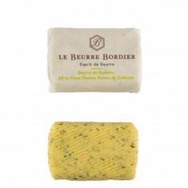 Beurre Bordier Ail et Fines Herbes, Poivre de Sichuan