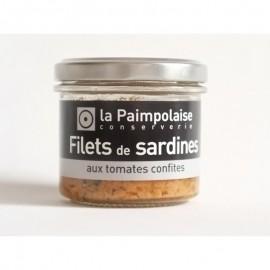 Tartinade  Sardines aux Tomates Confites et Basilic