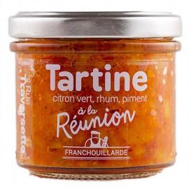 Tartine Franchouillarde à la Réunion