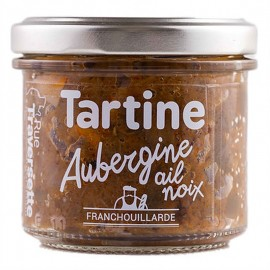 Tartinade Aubergine, Ail & Noix