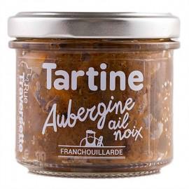Tartinerie Aubergine, Ail & Noix