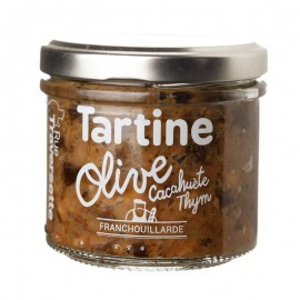 Tartinerie Olive, Cacahuète & Thym