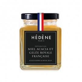 Miel Accacia et Gelée Royale Française, Hédène