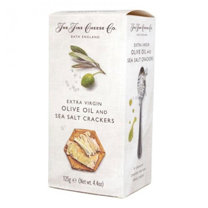 Crackers à l'Huile d'Olive vierge extra et au Sel de mer
