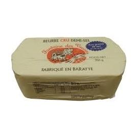 Beurre cru de baratte 1/2 sel croquant de l'Ile de Ré