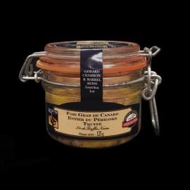 Foie gras de canard à la truffe