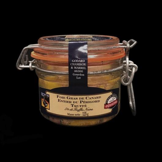 Foie Gras de Canard Entier Truffé du Perigord 125gr