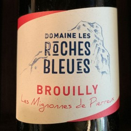 Vin Brouilly Les Roches Bleues