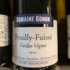 Vin blanc Pouilly fuissé