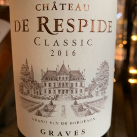 Vin Graves Château de Respide demi