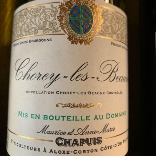Vin Blanc Chapuis Chorey les Beaunes